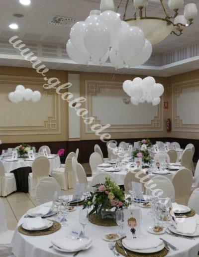 centro de mesa de nube