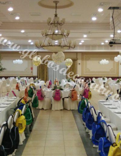 centros de mesa salón