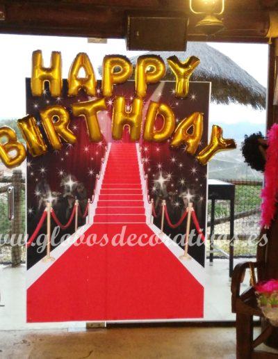 happy birthday globos